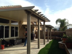 Aluminum Wood Patio Covers And Awning Installations In Jurupa Valley