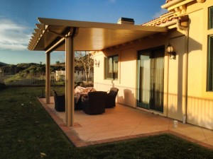 Aluminum Wood Patio Covers and Awning Installations in Redlands CA.